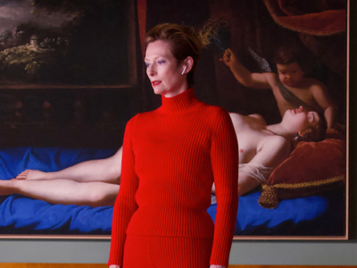 """Tilda Swinton stars in Pedro Almodovar's new short film <a href=""""https://everout.com/portland/events/the-human-voice/e99280/""""><em>The Human Voice</em></a>, screening at Living Room Theaters alongside the Spanish director's seminal 1988 feature <em>Women on the Verge of a Nervous Breakdown</em>."""