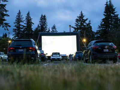 BECU Drive-in Movies at Marymoor Park
