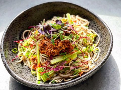 """Chef Mutsuko Soma's lauded Fremont restaurant <a href=""""https://everout.com/seattle/locations/kamonegi/l15120/"""">Kamonegi</a> will be serving its handmade soba noodles during <a href=""""https://everout.com/seattle/events/seattle-restaurant-week-2021/e99340/"""">Seattle Restaurant Week</a>, which will span the entire month of April this year."""