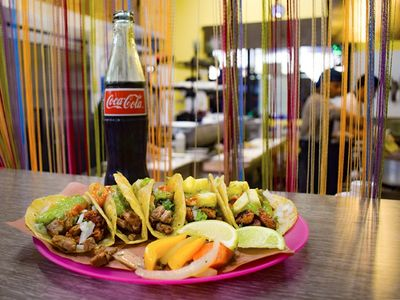 """Capitol Hill's favorite taco counter <a href=""""https://everout.com/seattle/locations/carmelos-tacos/l39958/"""">Carmelo's Tacos</a> opens its second location on Monday."""