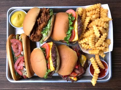 """Oregon gets its very first <a href=""""https://everout.com/portland/locations/shake-shack/l39916/"""">Shake Shack</a> location in Beaverton today."""