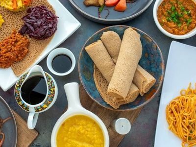 """The Ethiopian and Eritrean bar and restaurant <a href=""""https://everout.com/seattle/locations/shewa-ber/l39996/"""">Shewa-Ber</a> has arrived in the Central District."""