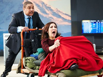 """This weekend only, queue up Seattle Opera's performance of Jonathan Dove's <a href=""""https://everout.com/seattle/events/seattle-opera-flight/e99252/""""><em>Flight</em></a>, performed and filmed at Tukwila's own Museum of Flight."""