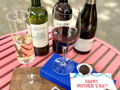 "Treat your mother figure to a luxurious chocolate and wine flight from <a href=""https://everout.com/portland/locations/stem-wine-bar/l39367/"">Stem Wine Bar</a> for Mother's Day."