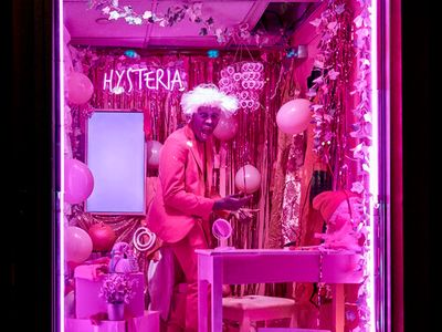"""Brooklyn artist Raja Feather Kelly brings his new solo dance/theater/visual performance <a href=""""https://everout.com/seattle/events/raja-feather-kellys-hysteria/e99904/""""><em>HYSTERIA</em></a> to On the Boards' digital stage this Thursday."""