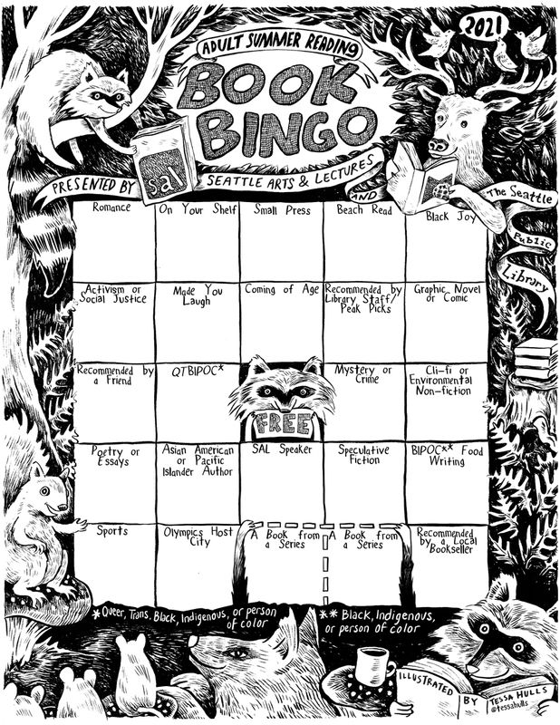 How to Get Started with Summer Book Bingo 2021 in Seattle