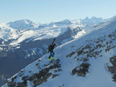 """Get your thrills from <a href=""""https://everout.com/seattle/events/super-frenchie/e100881/""""><em>Super Frenchie</em></a>, a doc about pro skier and extreme parkour-er Matthias Giraud coming to SIFF (virtually) and Grand Cinema (IRL) on Friday."""