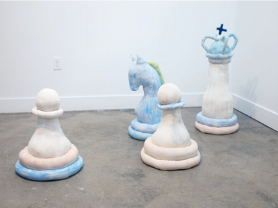 """A slew of new gallery shows are on view this weekend, including Rachel Thomander and Brooklynn Johnson's <a href=""""https://everout.com/seattle/events/surfing-chess/e100753/""""><em>Surfing &amp; Chess</em></a> at SOIL."""