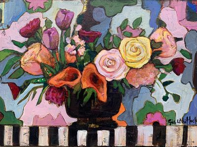 """The <a href=""""https://everout.com/portland/events/rose-festival-art-show/e100477/"""">Rose Festival Art Show</a> is now on view at the Oregon Society of Artists gallery."""