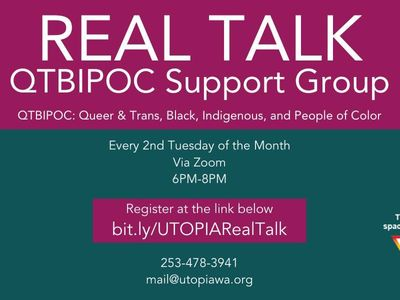 Real Talk: QTBIPOC Support Group