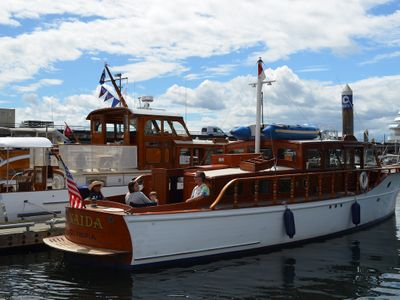 """The <a href=""""https://everout.com/seattle/events/classic-weekend-at-bell-harbor-marina/e100990/"""">Bell Harbor Classic</a> will return to Pier 66 this Father's Day weekend with a display of pre-WWII yachts to inspire your nautical adventures."""