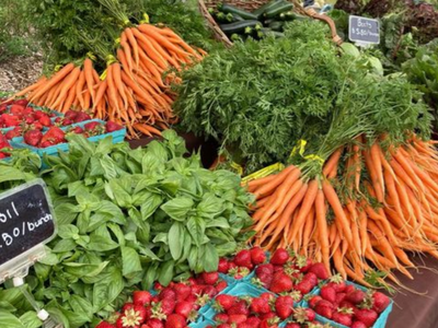"""The <a href=""""https://everout.com/portland/events/kenton-farmers-market/e101143/"""">Kenton Farmers Market</a> is one of the many markets that are back open for summer."""