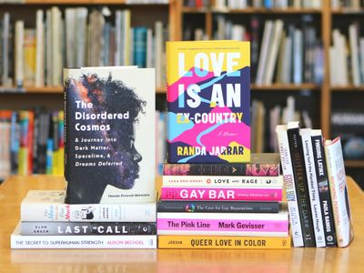 """Head to <a href=""""https://everout.com/portland/locations/powells-city-of-books/l27797/"""">Powell's</a> to check out their Pride displays, or shop online."""