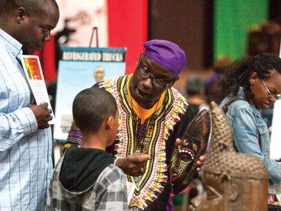 """Educator Delbert Richardson (pictured) will <a href=""""https://everout.com/seattle/events/1619-resistance-resilience-remembrance/e100766/"""">give a virtual talk</a> on Saturday introducing his traveling exhibition <a href=""""https://everout.com/seattle/events/the-unspoken-truths/e101247/""""><em>The Unspoken Truths</em></a>, which comes to the Museum of History &amp; Industry June 18-21 with artifacts and storyboards highlighting the Jim Crow South and periods of chattel slavery in the U.S."""