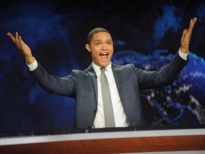 """<em>Daily Show</em> host <a href=""""https://everout.com/seattle/events/trevor-noah-back-to-abnormal-world-tour/e101329/"""">Trevor Noah</a> will come to the Climate Pledge Arena this November on his Back to Abnormal World Tour. Tickets go on sale this Friday at 10 am!"""