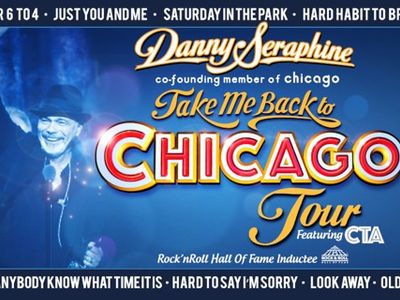 Danny Seraphine co-founding member of Chicago Take Me Back To Chicago Tour