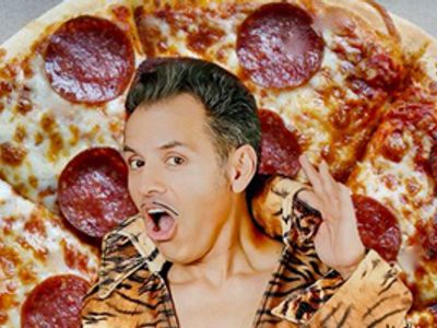"""El Vez """"Stand & Deliver, Pizza! The Life of (pizza) Pie"""""""