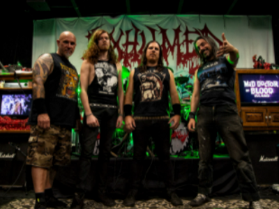 Exhumed, Creeping Death, Bewitcher, Bone Sickness