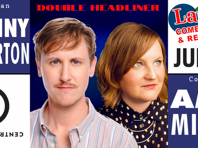 Amy Miller and Johnny Pemberton