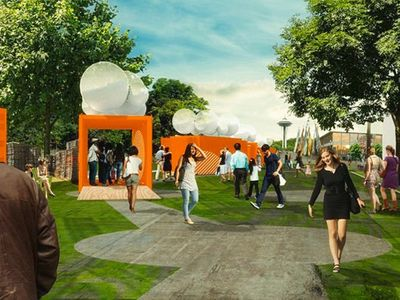 """The <a href=""""https://everout.com/seattle/events/seattle-design-festival-block-party/e102827/"""">Seattle Design Festival</a> returns to Lake Union Park this month with two days of built installations and pop-up experiences."""