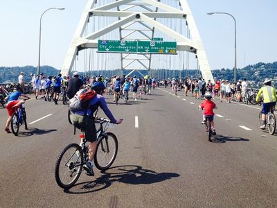 """The 25th annual <a href=""""https://everout.com/portland/events/providence-bridge-pedal-2021/e102852/"""">Providence Bridge Pedal</a> will offer cyclists and walkers the opportunity to ride and walk across Portland's many bridges."""