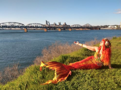"""In partnership with Unipiper and Weird Portland United, the Portlandia Mermaid Parade presents an <a href=""""https://everout.com/portland/events/portlandia-mermaid-parade-part-of-your-world-walking-tour/e102263/"""">outdoor festival</a> """"of all things mermaid- and water-related"""" at Tom McCall Waterfront Park this Saturday."""