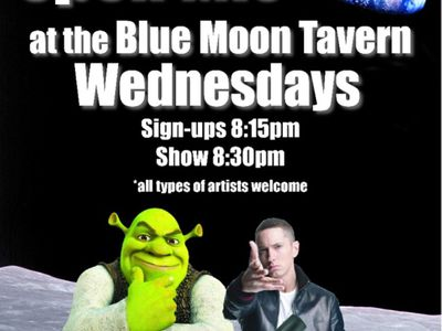 Open Mic at the Blue Moon Tavern