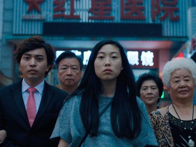 """Seattle Center's <a href=""""https://everout.com/seattle/events/movies-at-the-mural/e102940/"""">Movies at the Mural</a> continues with Lulu Wang's <em>The Farewell</em> on Friday."""