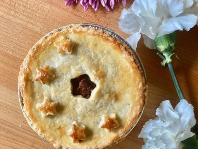 """The pop-up <a href=""""https://everout.com/portland/locations/allie-gs-pastries/l41200/"""">Allie G's Pastries</a>, which specializes in Filipinx-inspired delights like adobo chicken pot pie, launched a new residency at <a href=""""https://everout.com/portland/locations/derby-kenton/l40919/"""">Derby</a> this week."""