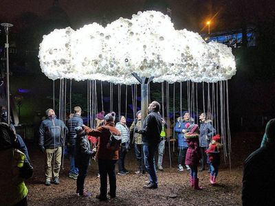 """Get entranced by creative light displays from over a dozen artists at the <a href=""""https://everout.com/seattle/events/lusio-lights-festival/e101231/"""">LUSIO Lights Festival</a> this Friday and Saturday."""