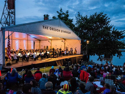 """The Oregon Symphony's <a href=""""https://everout.com/portland/events/oregon-symphony-waterfront-concert-and-festival/e103478/"""">Waterfront Concert and Festival</a> will delight audiences with a free lineup of some of Portland's best artists and musicians."""