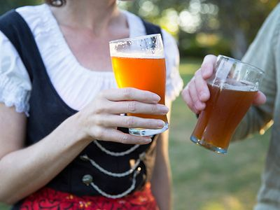 """Take in live music and sip craft beers at McMenamins' all-ages <a href=""""https://everout.com/portland/events/edgefield-oktoberfest/e103695/"""">Edgefield Oktoberfest</a>."""