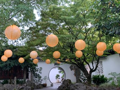 """This weekend, celebrate the <a href=""""https://everout.com/portland/events/mid-autumn-festival-zhong-qiu-jie-zhong-qiu-jie/e103425/"""">Mid-Autumn Festival</a> at a lantern-bedecked Lan Su Chinese Garden."""