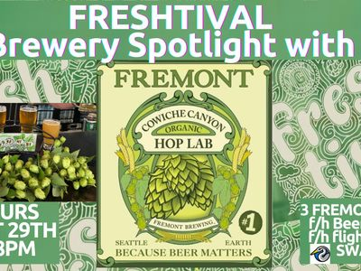 Fresh Hop Brewery Spotlight with Fremont Brewing