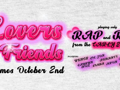 Lovers and Friends - A Dance Party of Early 2000's