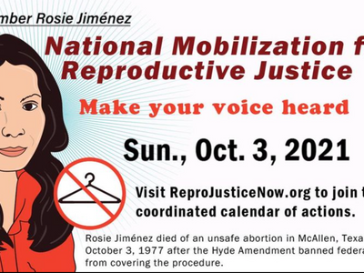 Help Build the Seattle Action for Rosie Jiménez and Reproductive Justice