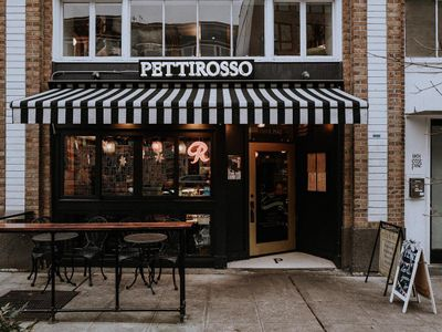 """The beauty of your favorite lunch spot, <a href=""""https://everout.com/seattle/locations/cafe-pettirosso/l18600/"""">Cafe Pettirosso</a>, is that it's also a perfect breakfast, dinner, and drinks spot."""