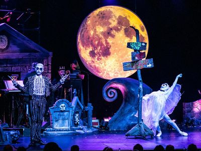 """<em>The Nightmare Before Christmas</em> jumps from the screen to the stage in Can Can's spooky production <a href=""""https://everout.com/seattle/events/this-is-halloween/e104366/"""">This Is Halloween</a>."""