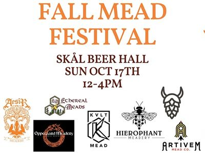 Fall Mead Fest at Skål Beer Hall