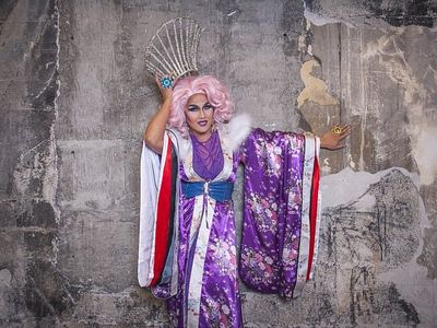 """Aleksa Manila will host a """"super fun over-the-top"""" game of drag queen bingo during Saturday's <a href=""""https://everout.com/seattle/events/seattle-pride-all-together-now/e100386/"""">Seattle Pride: All Together Now</a> at Volunteer Park."""