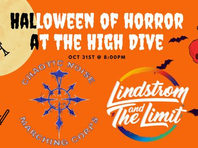 """Chaotic Noise Marching Corps + Lindstrom & The Limit """"Halloween of Horror!"""""""